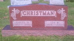 Ida Mae <i>Witwer</i> Christman