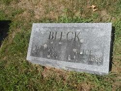 Alice <i>Rosencrance</i> Bleck