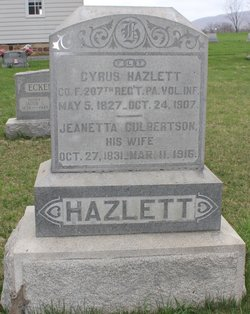 Jeanetta <i>Culbertson</i> Hazlett