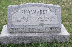 Emma <i>Culbertson</i> Shoemaker