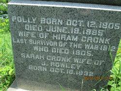 Polly <i>Thornton</i> Cronk