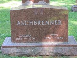 Martha Auguste Albertine <i>Radant</i> Aschbrenner