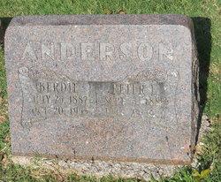 Berdie <i>Wilburn</i> Anderson
