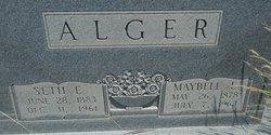 Maybell E. <i>Hardman</i> Alger