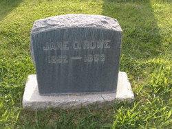 Jane <i>Olorenshaw</i> Rowe