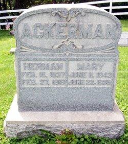 Mary <i>Niesz</i> Ackerman