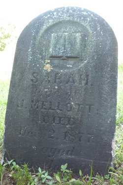 Sarah Sally <i>Mellott</i> Mellott
