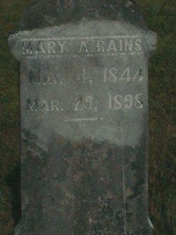 Mary Ann <i>Hart</i> Rains