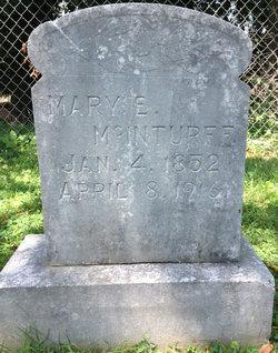Mary E <i>Walker</i> McInturff