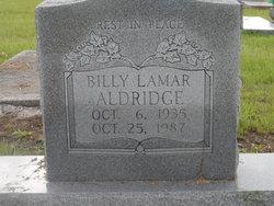 Billy Lamar Aldridge