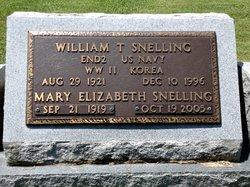 Mary Elizabeth <i>Savoy</i> Snelling