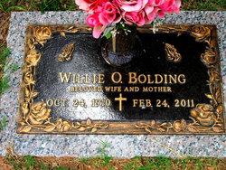 Willie Ora <i>Ivins</i> Bolding