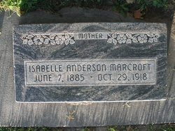 Isabelle D <i>Andersen</i> Marcroft