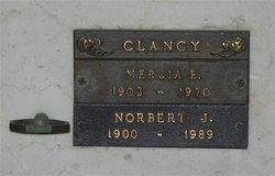 Norbert Joseph Clancy