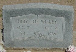 Irby Joe Willey
