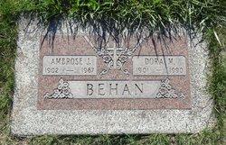 Ambrose J Behan