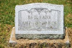 Hazel I Ader
