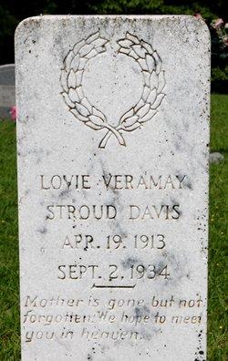 Lovie Veramay <i>Stroud</i> Davis