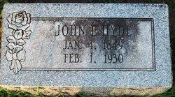 John Edward Hyde