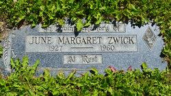 June Margaret Zwick