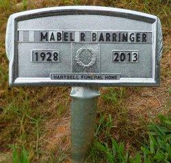 Mabel Ruth Barringer