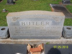 E Luther Butler