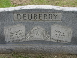 Mrs Lora Lucille <i>McIllwain</i> Deuberry
