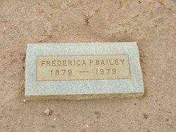 Frederica <i>Peacock</i> Bailey