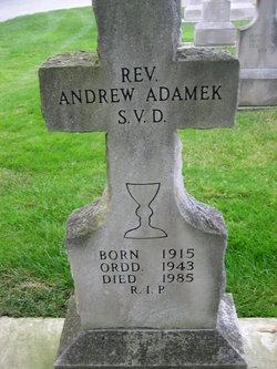 Rev Andrew Adamek