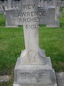 Rev Lawrence Archey