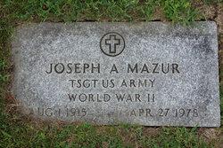 Joseph A Mazur