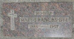 Mrs Mary Frances <i>Edelen</i> Dye