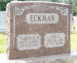 Ada V <i>Eckman</i> Eckman