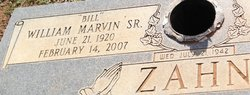 William Marvin Bill Zahn, Sr
