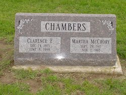 Clarence F Chambers