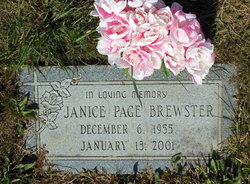 Janice Page Brewster