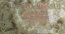 Libby Ann <i>Godfrey</i> Marshall