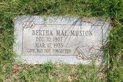 Bertha Mae Muston