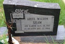 Ariel <i>Wilson</i> Shaw
