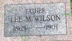 Lee Marion Wilson