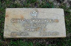 William J Rohrbacher, Jr
