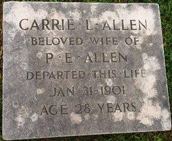 Carrie L Allen