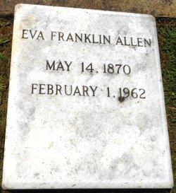 Eva <i>Franklin</i> Allen