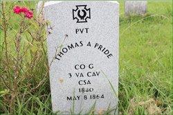 Thomas A. Pride