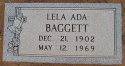 Lela Ada <i>Bradley</i> Baggett