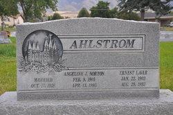 Angelina Josephine <i>Norton</i> Ahlstrom