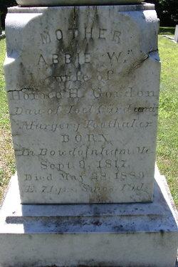 Abbie W. Gordon