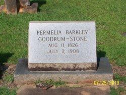 Permelia <i>Barkley</i> Goodrum/Stone