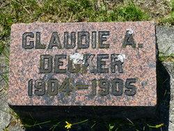Claude A Decker