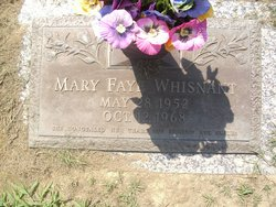 Mary Faye Whisnant